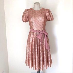 Gal Meets Glam Beatrix Sequin Dress Size 2